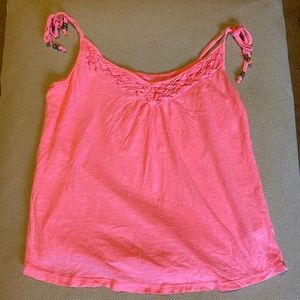 H&M Small Tank Top Hot Pink